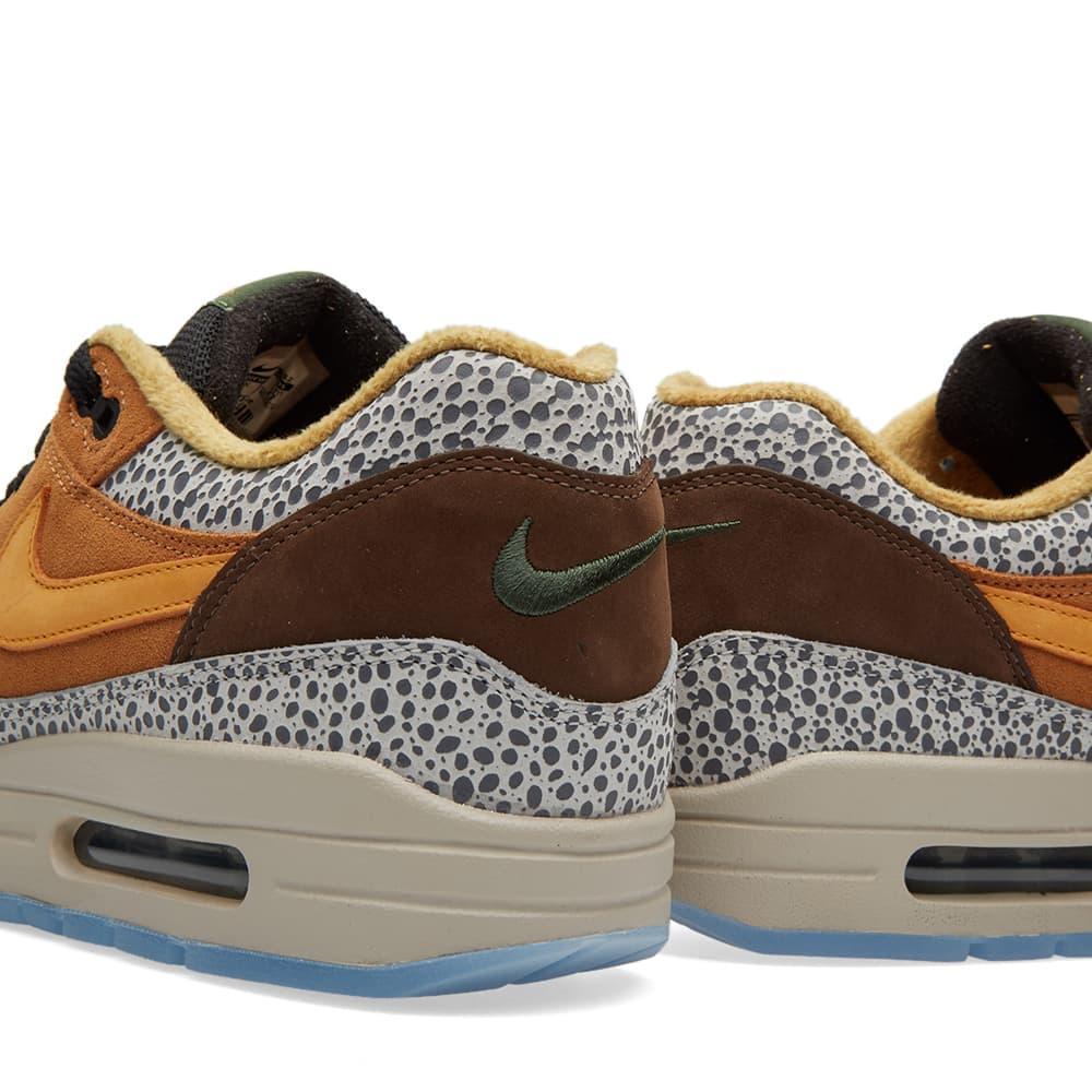 Nike Air Max 1 Premium 'Safari' - Flax, Kumquat & Chestnut