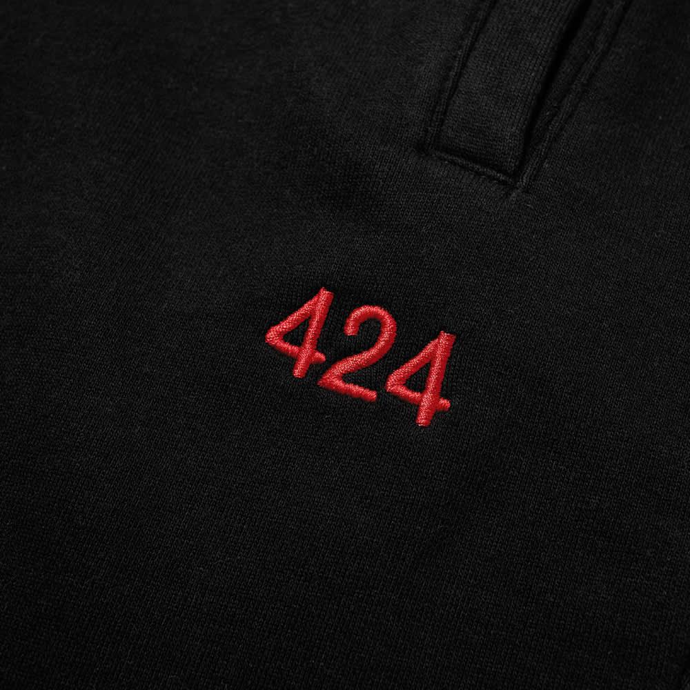 424 Logo Jogger - Black