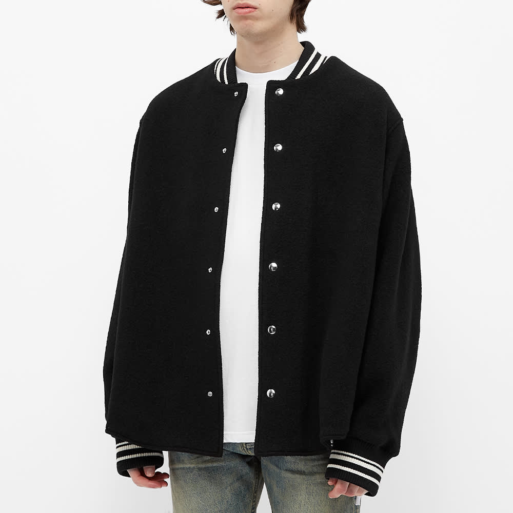 424 Varsity Jacket - Black