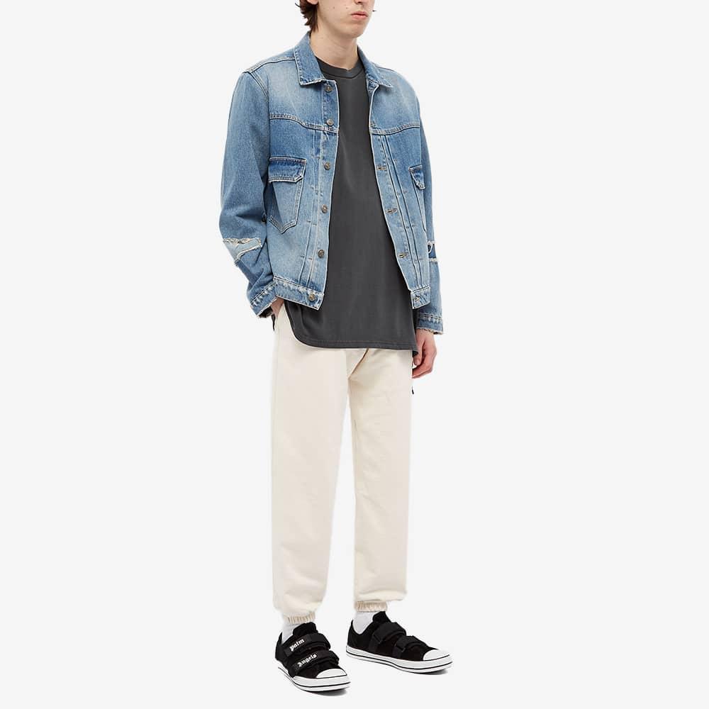 424 Distressed Denim Jacket - Blue