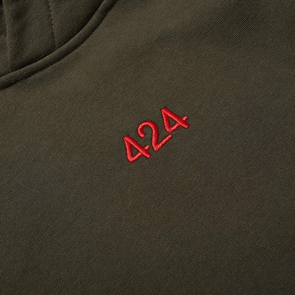 424 Logo Hoody - Green