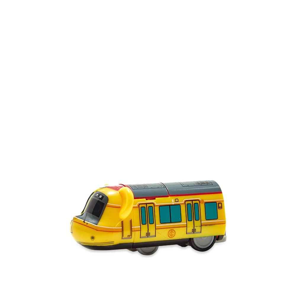 Medicom Train Tokyo Metro Ginza Line Be@rbrick - Yellow 100%