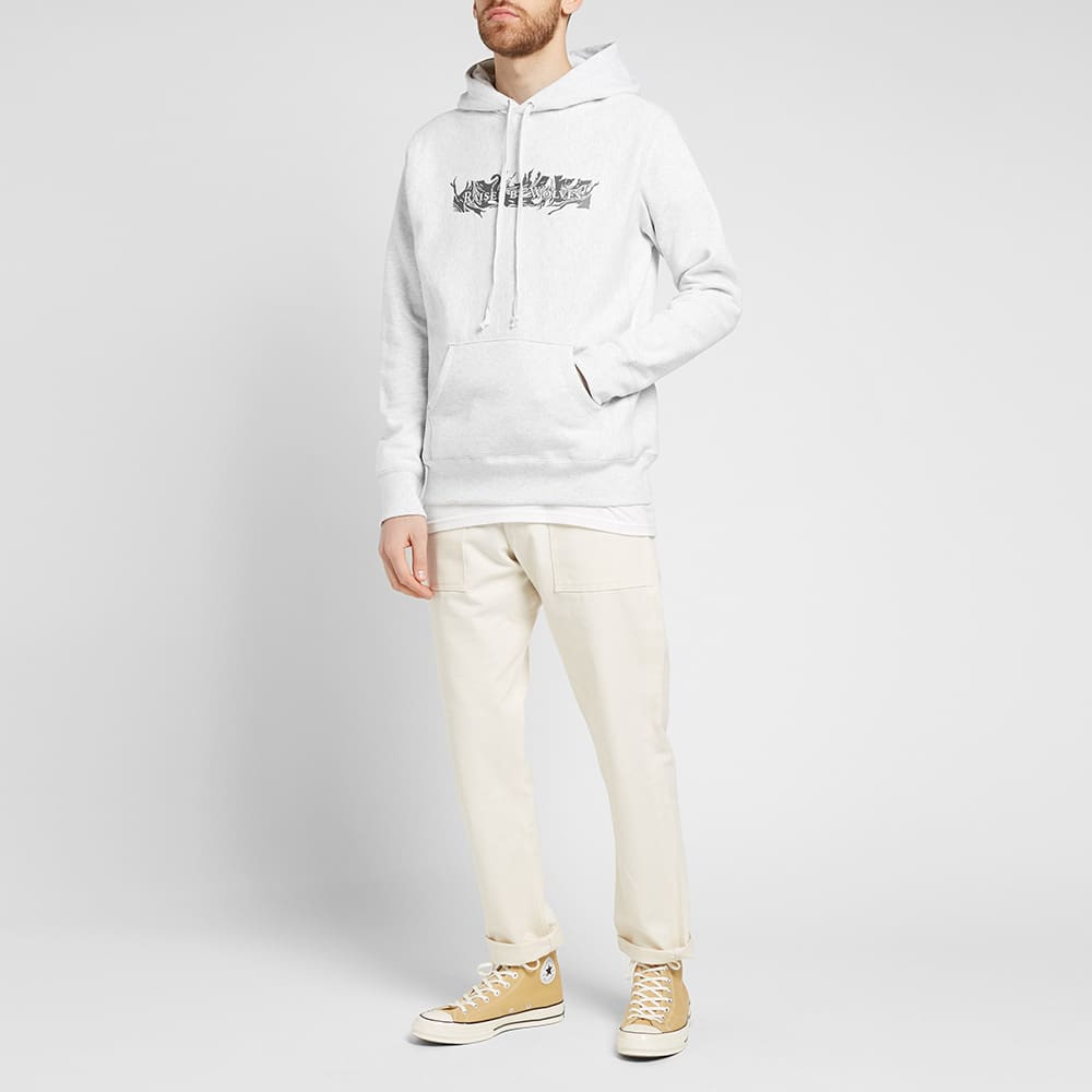 Raised by Wolves Gasoline Popover Hoody - Grey