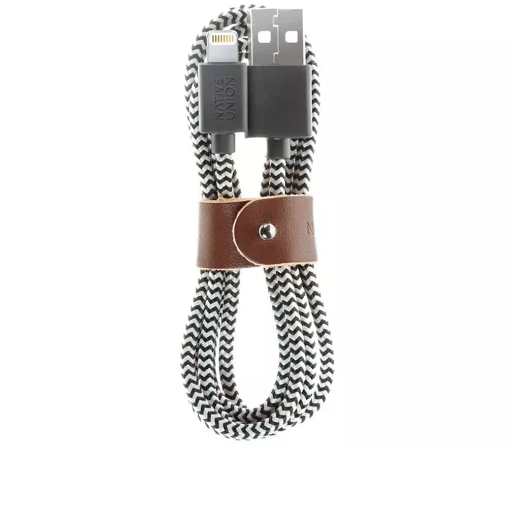 Native Union Belt Cable - Zebra