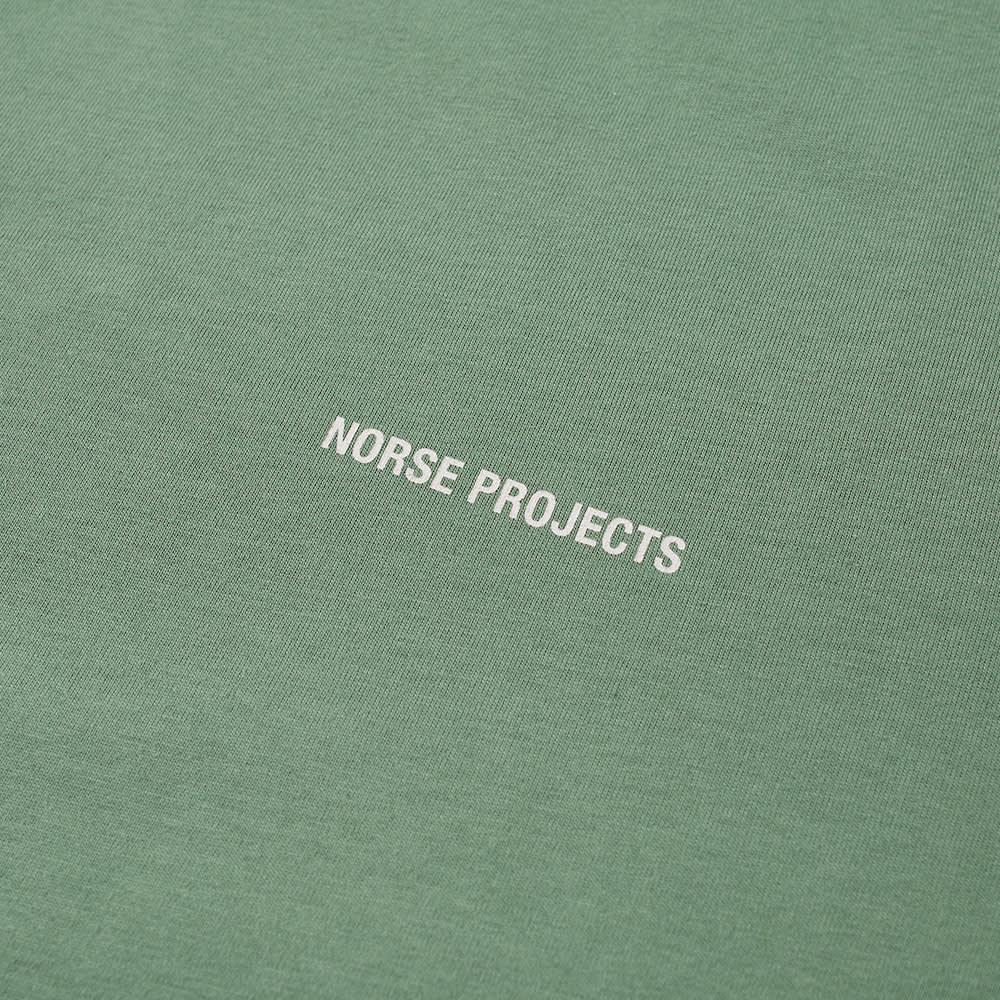 Norse Projects Niels Standard NP Logo Tee - Lichen Green