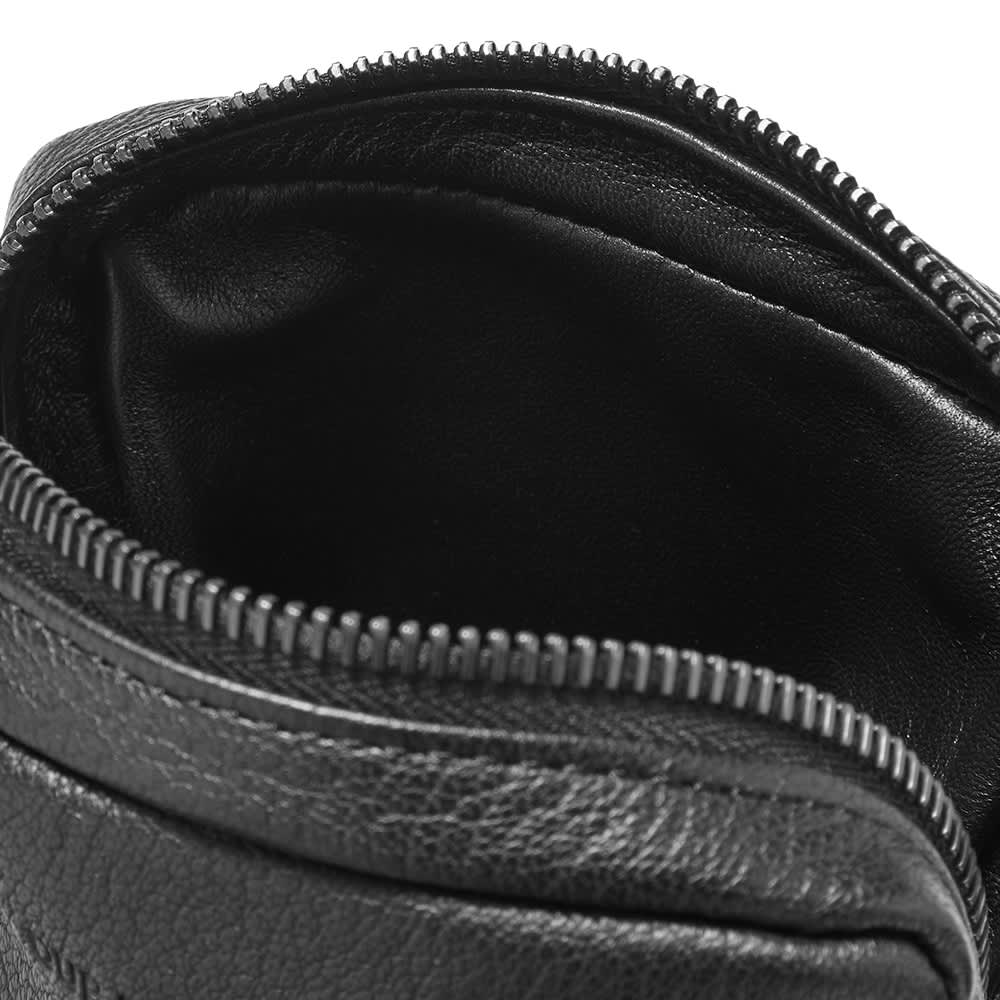 Our Legacy Delay Cross Body Bag - Black Leather