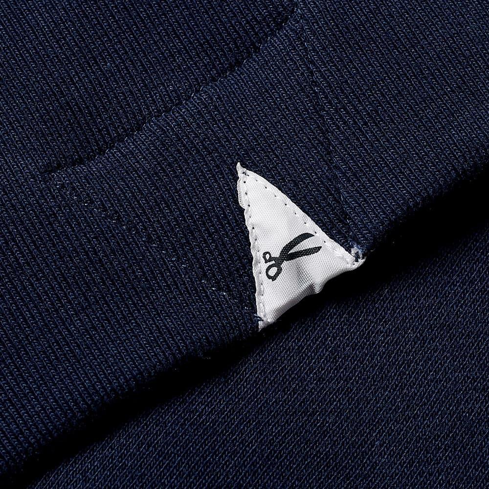 Denham Barbadenham Patch Hoody - Navy Blazer
