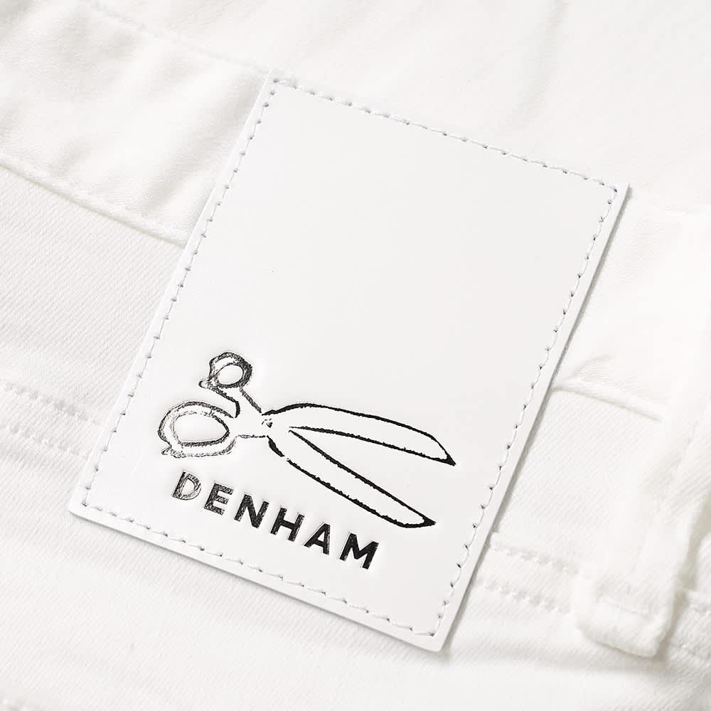 Denham Razor Slim Jean - White