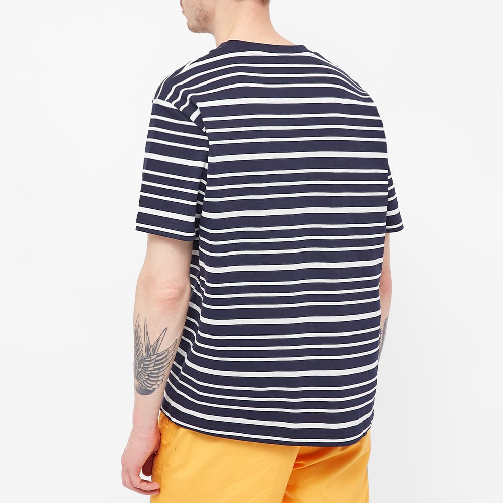 Norse Projects Johannes Mariner Stripe Tee - Navy