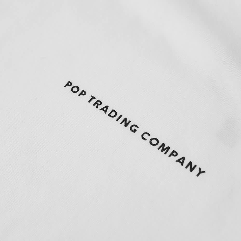Pop Trading Company x NOS Logo Tee - White & Black