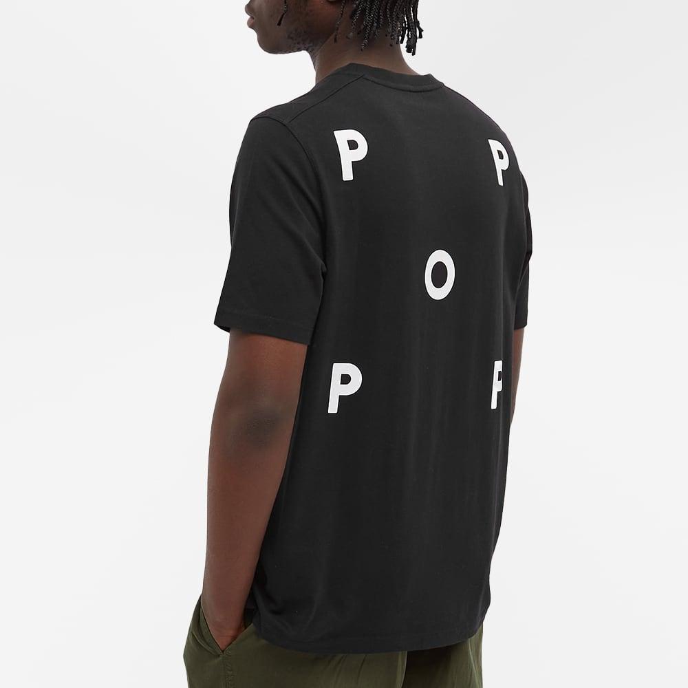 Pop Trading Company NOS Logo Tee - Black & White