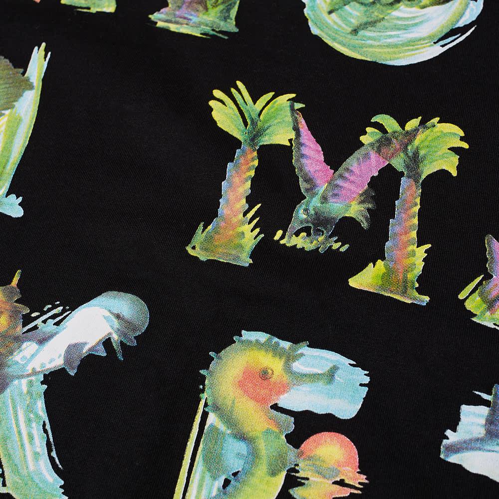 Chinatown Market Watercolour Sea Creatures Tee - Black