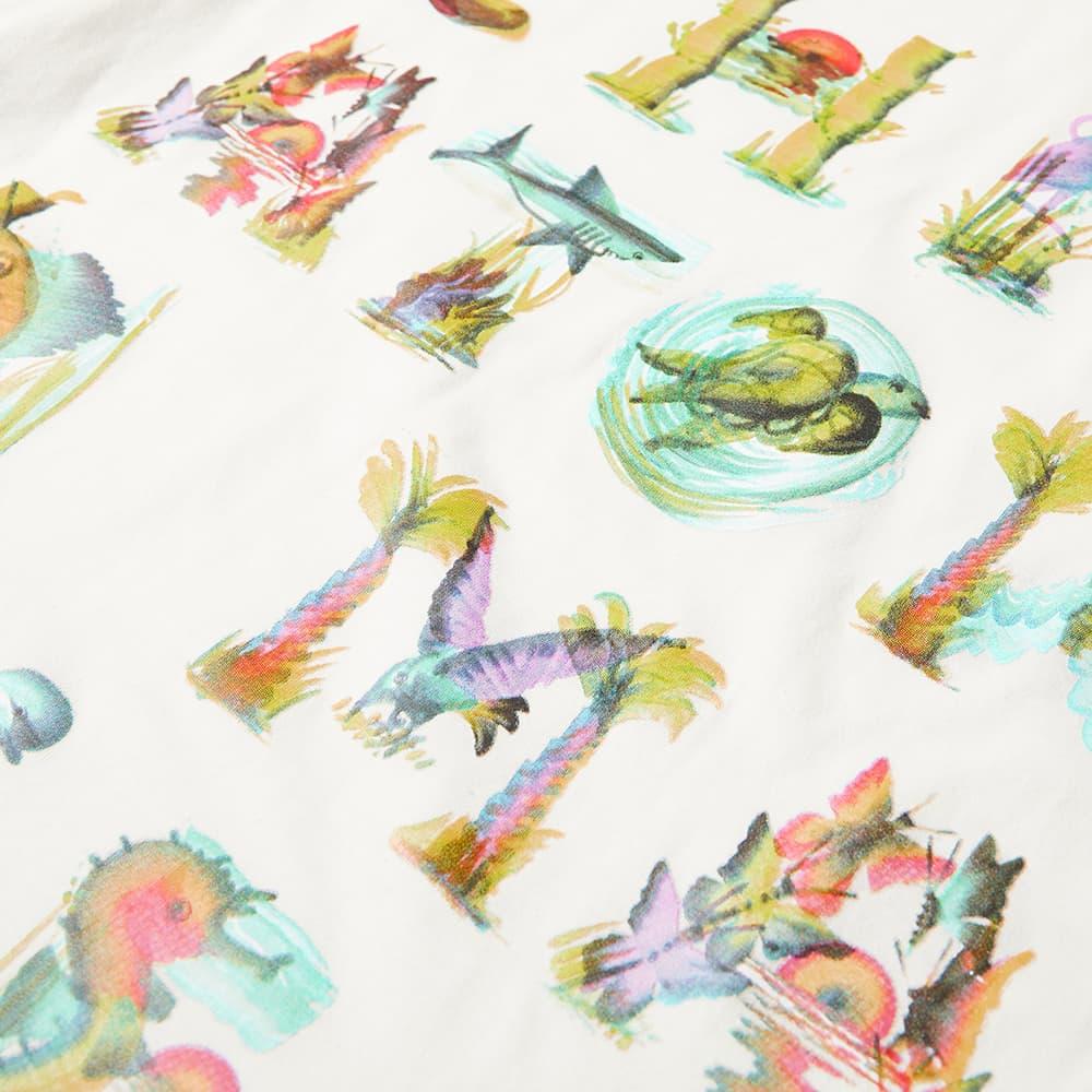 Chinatown Market Watercolour Sea Creatures Tee - Cream