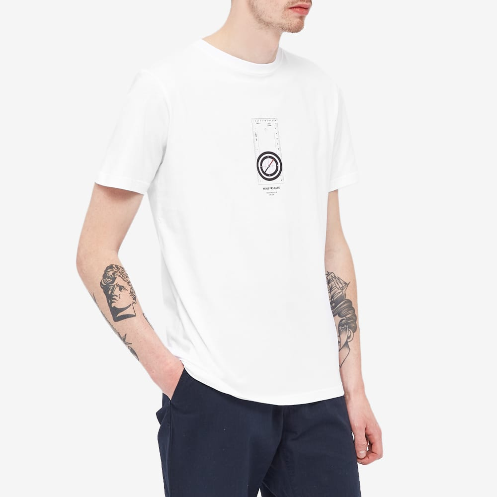 Norse Projects Niels Compass Tee - White