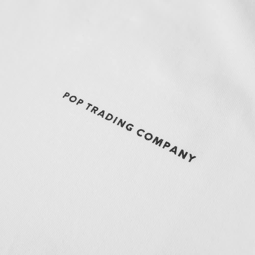 Pop Trading Company NOS Long Sleeve Tee - White & Black