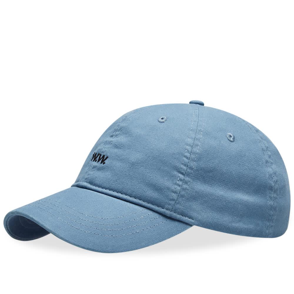 Wood Wood AA Low Profile Cap - Dusty Blue