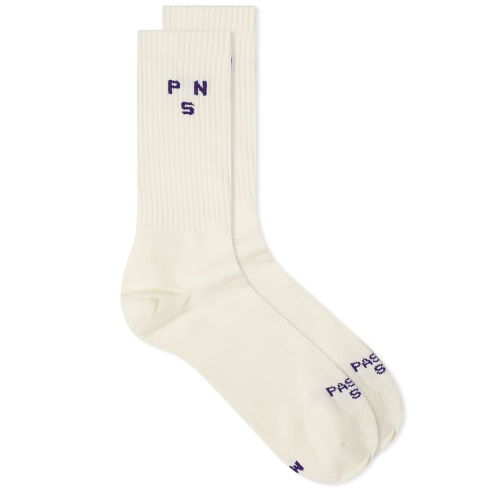 Pas Normal Studios Ribbed Sock - Off White