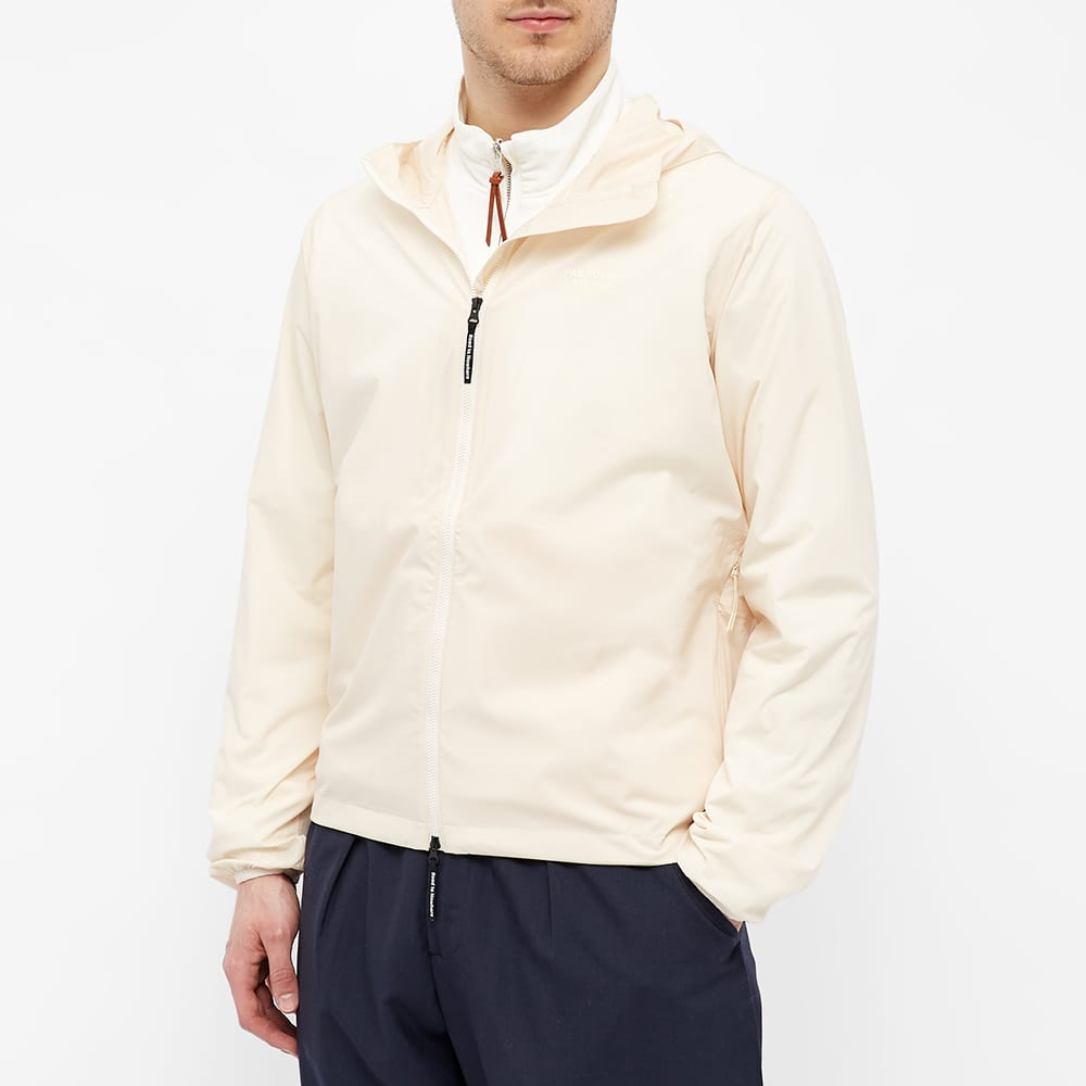 Pas Normal Studios Off-Race Stow-Away Jacket - Off White