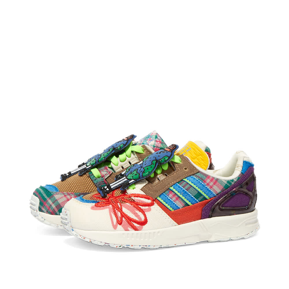 Adidas x Sean Wotherspoon ZX 8000 Super Earth Infants - Off White, Bluebird & Red