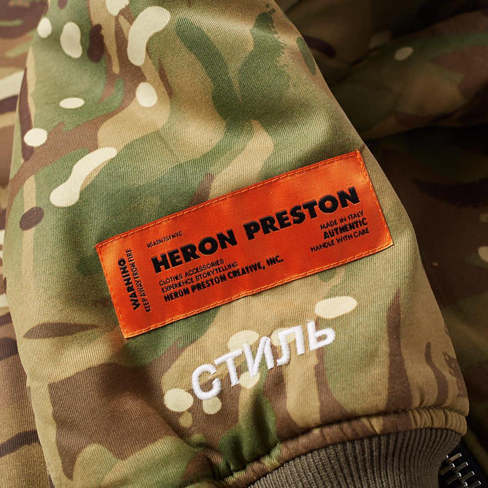 Heron Preston CTNMB Bomber Jacket - Camo