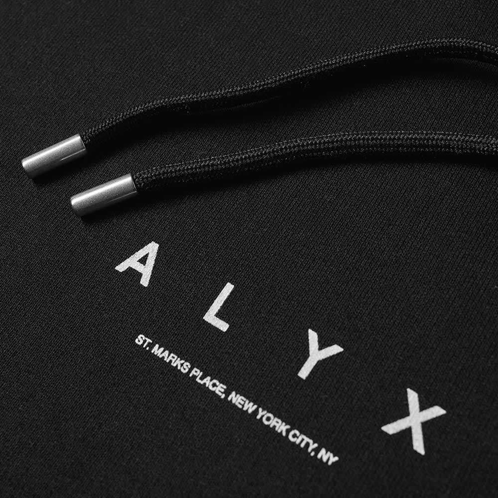 1017 ALYX 9SM A Logo Hooded Sweat - Black