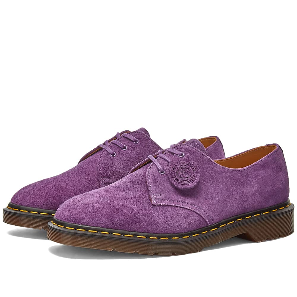 Dr. Martens x C.F. Stead Shoe - Made in England - Purple Desert Oasis Suede