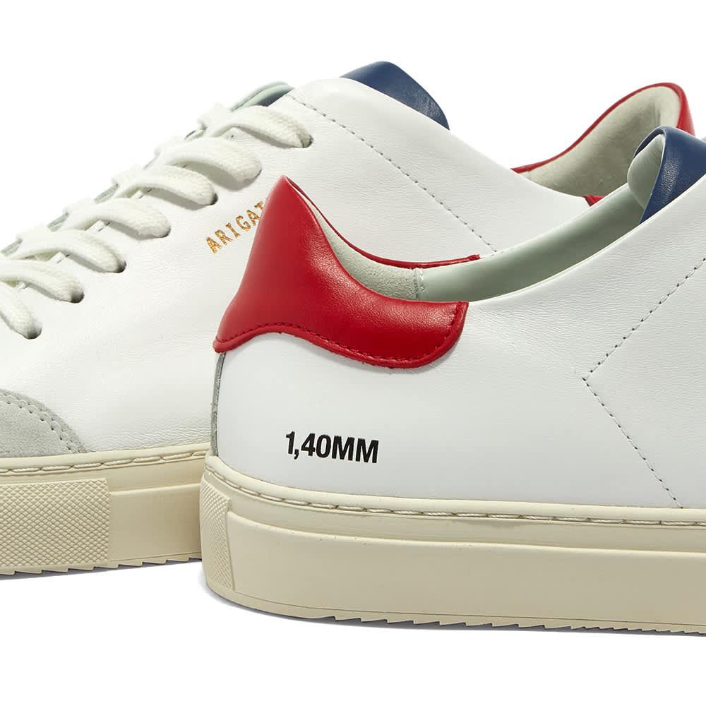 Axel Arigato Clean 90 Triple Sneaker - White, Red & Blue