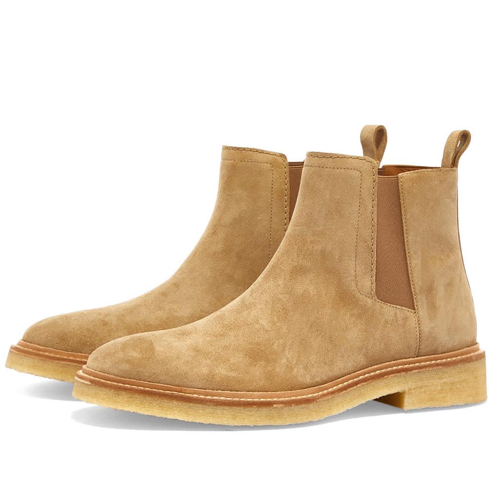 Zespa Suede Chelsea Boot - Savane