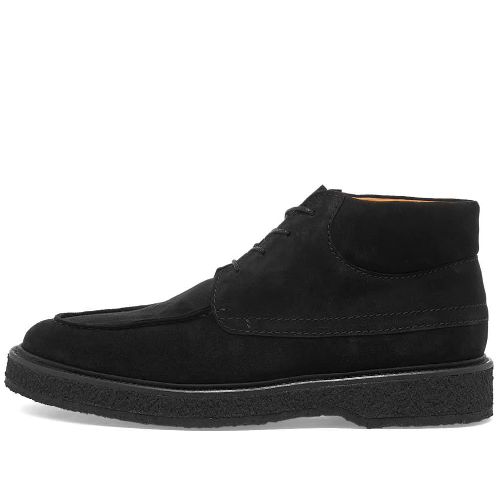Zespa Suede Chukka Boot - Black