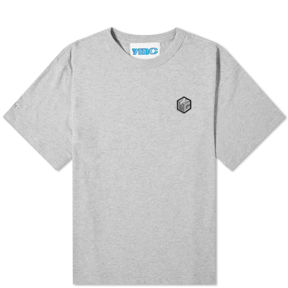 YMC x Pref Embroidered Logo Tee