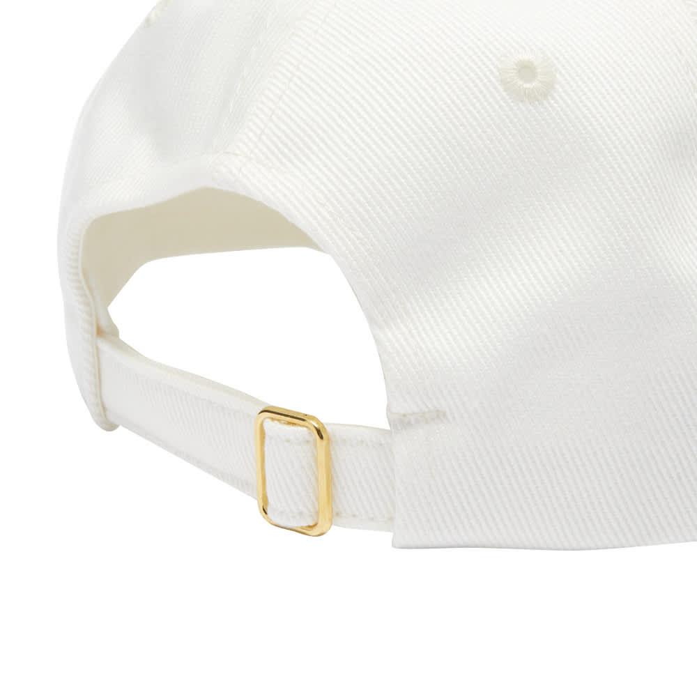 Casablanca Casaway Tennis Club Cap - Off White