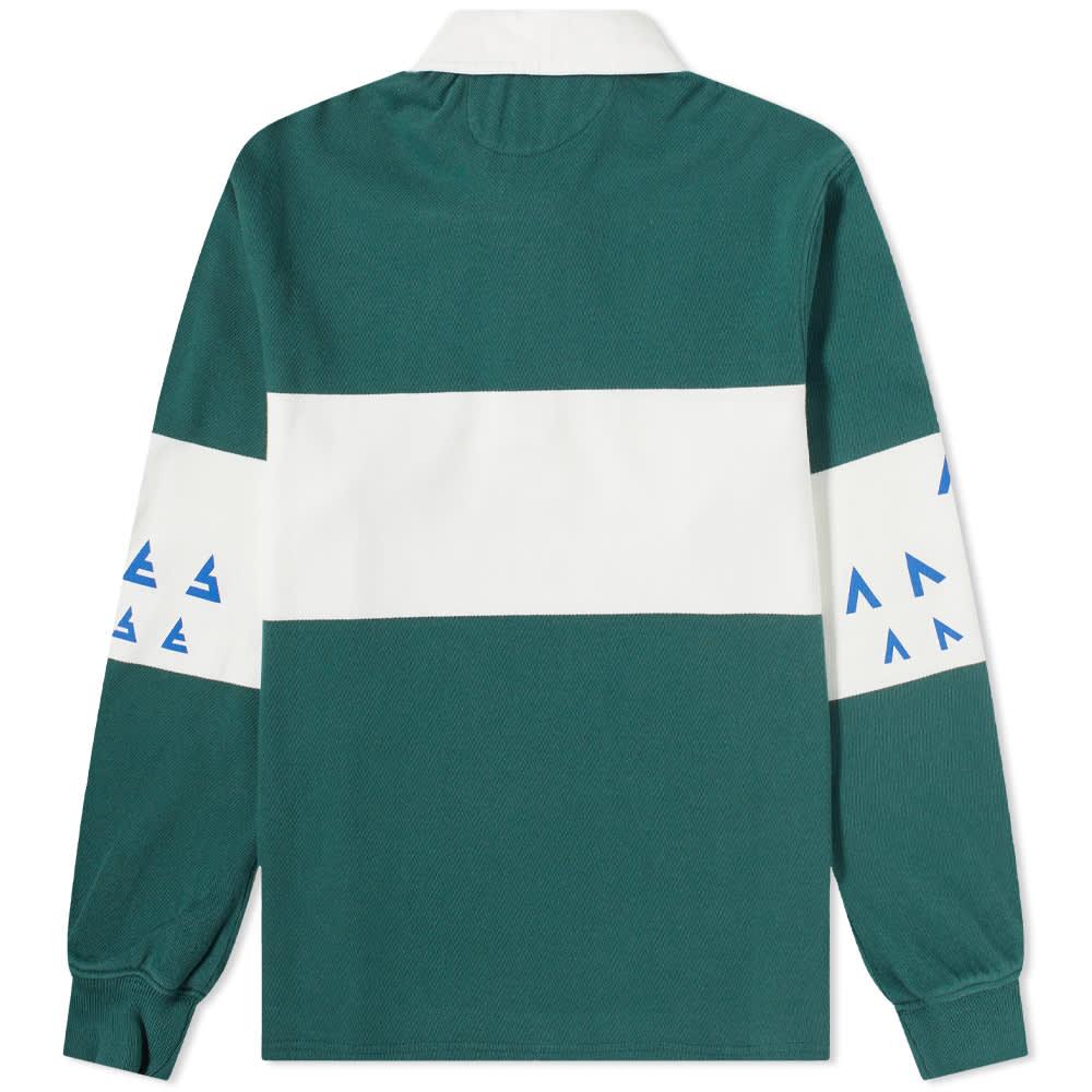 Aries Rugby Shirt - Petrol