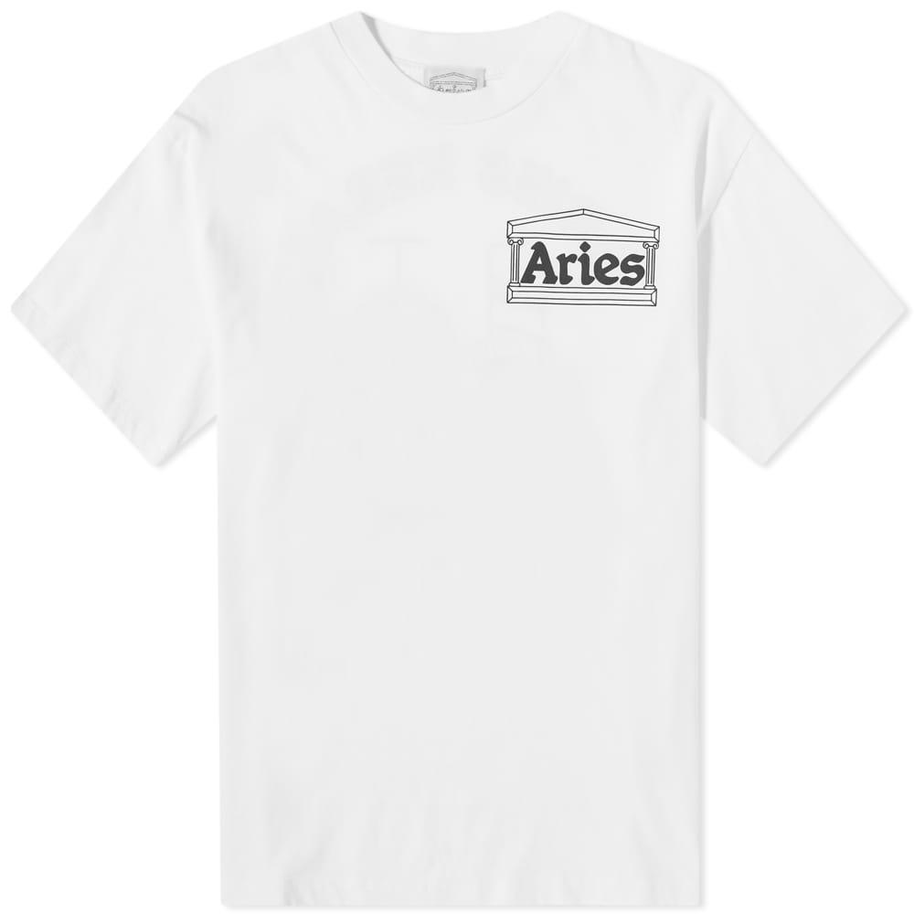 Aries Kebab Tee - White