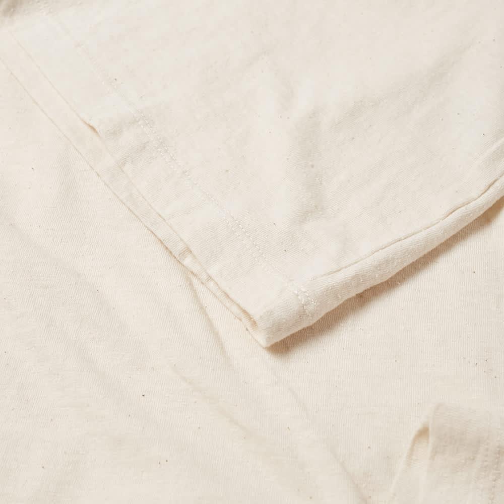 Officine Générale Japanese Slub Cotton Tee - Ecru