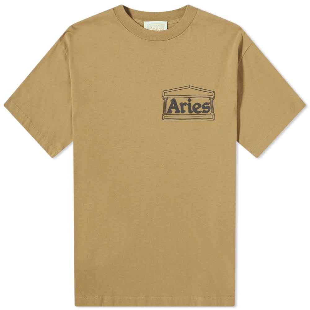 Aries Temple Tee - Olive