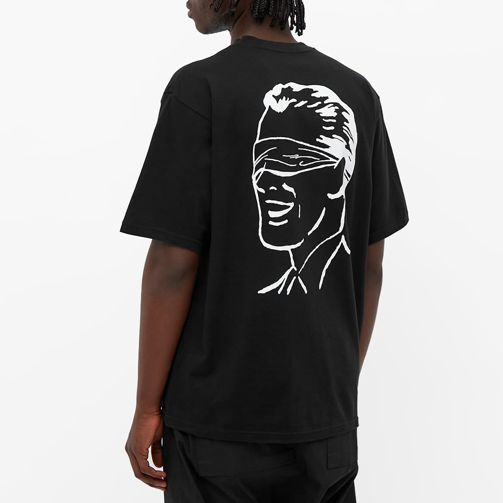 Undercover Slogan Logo Backprint Tee - Black