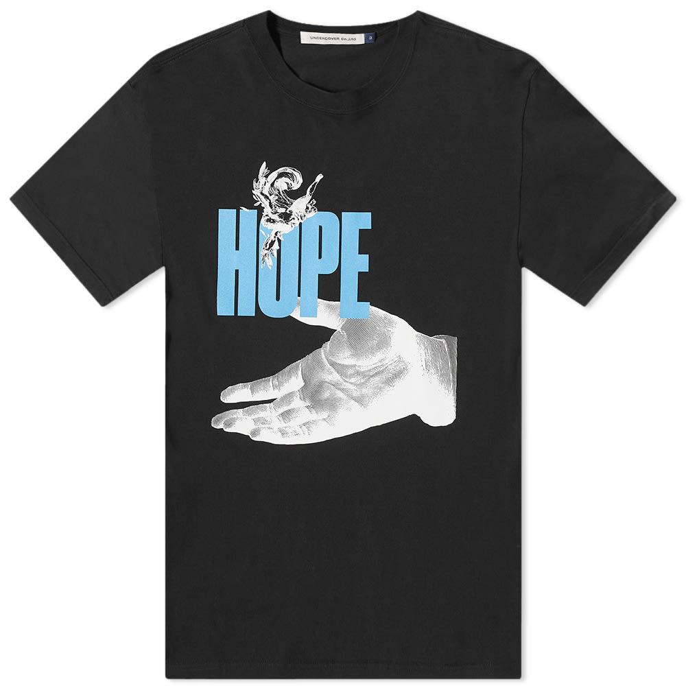 Undercover Hand Hope Tee - Black