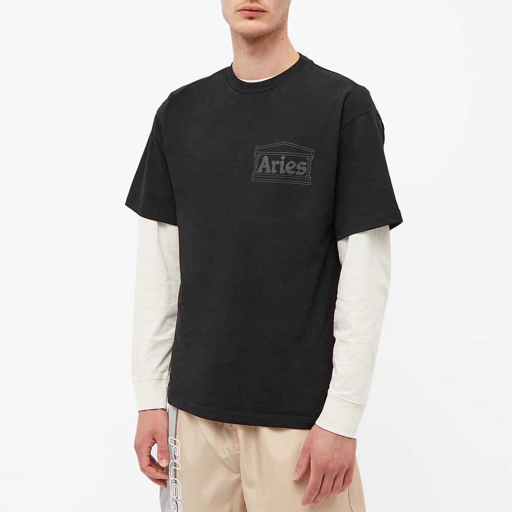 Aries Temple Tee - Black