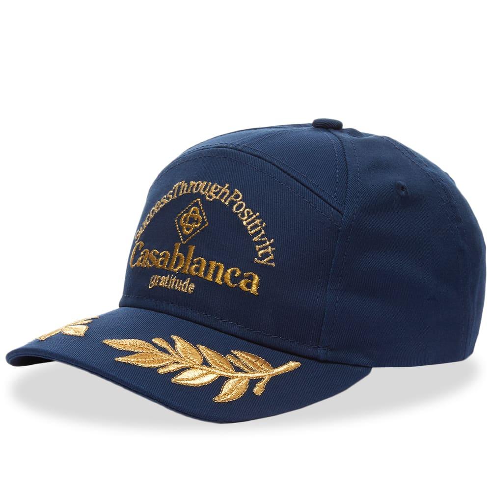 Casablanca Success Through Positivity Cap - Navy