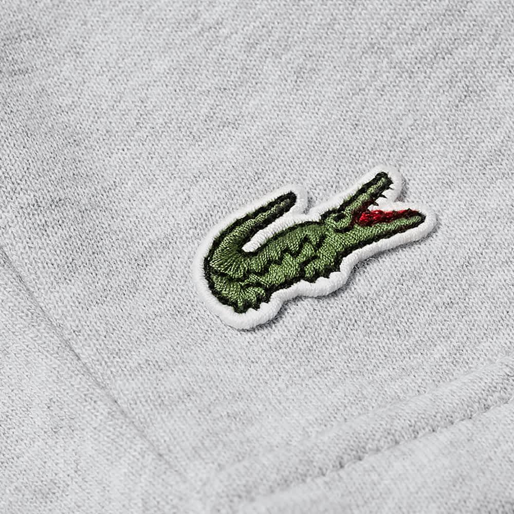 Lacoste Classic Logo Sweat Short - Grey Marl