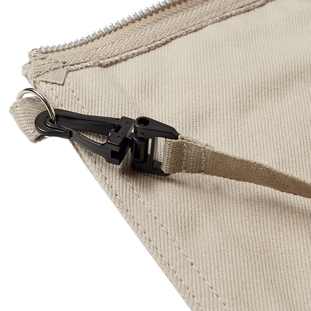 Undercover Canvas Pouch - Beige