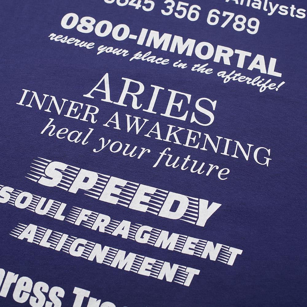 Aries Mystic Business Tee - Navy