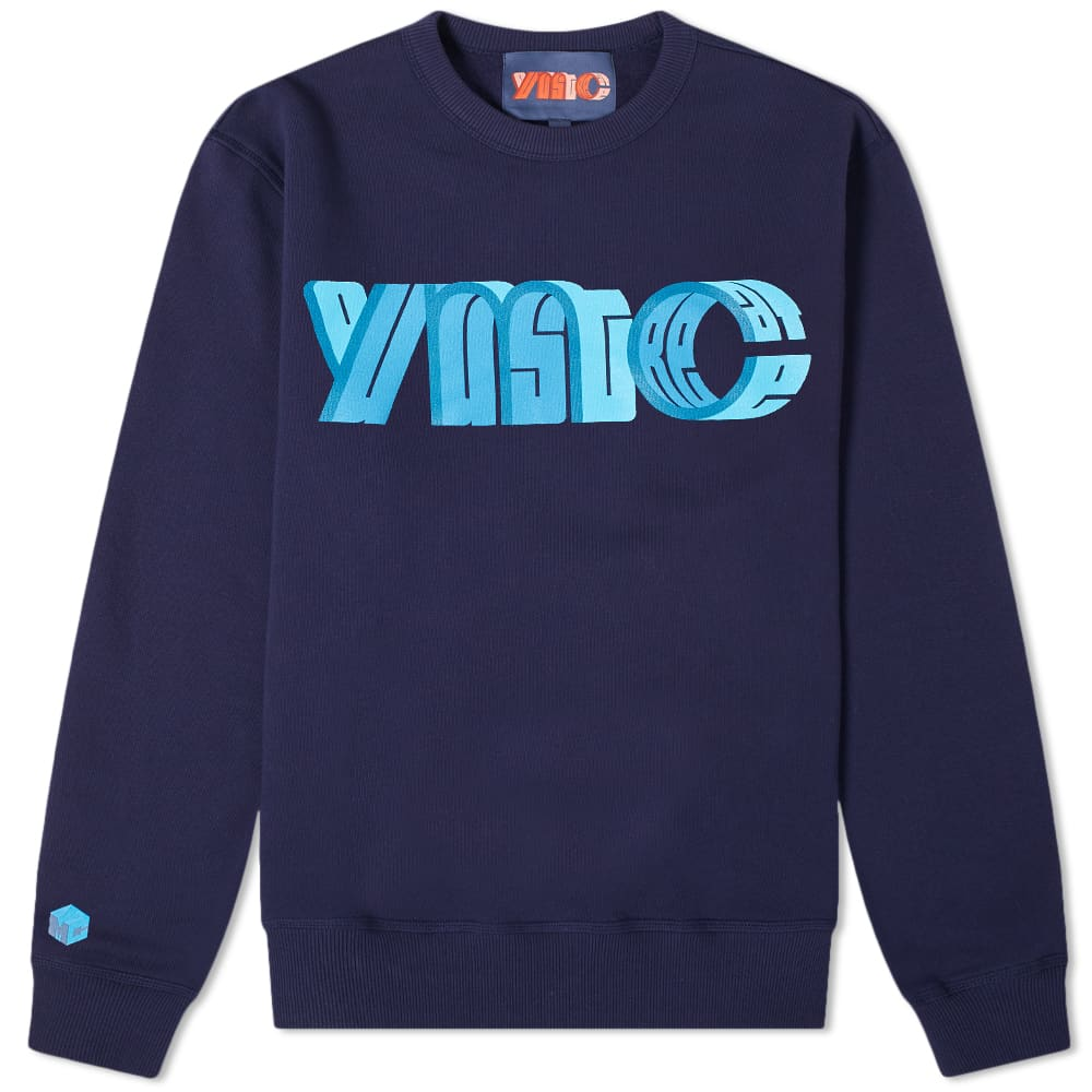 YMC x Pref Logo Crew Sweat