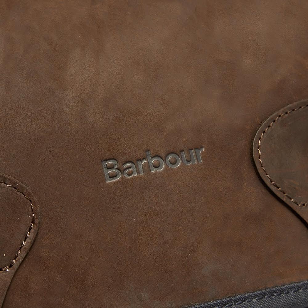 Barbour Wax Leather Tarras - Navy