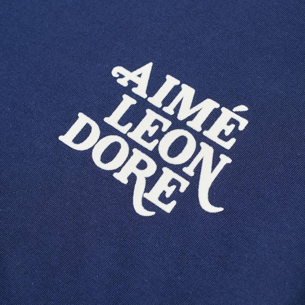 Aimé Leon Dore 70s Logo Graphic Tee  - Flag Navy