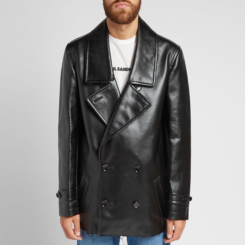 Comme des Garcons Homme Plus PVC Peacoat - Black