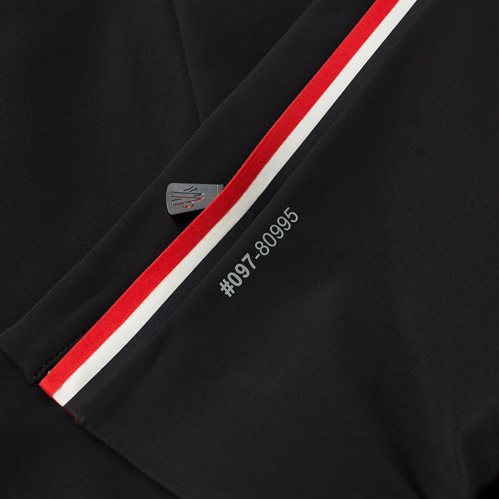 Moncler Grenoble Tricolour Stripe Ski Pant - Black