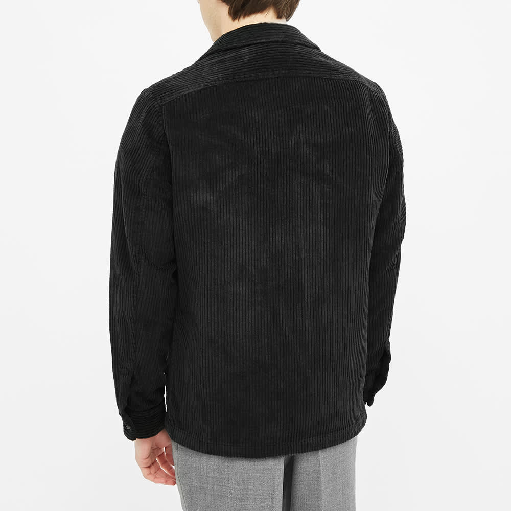 Barena Cord Chore Jacket - Black