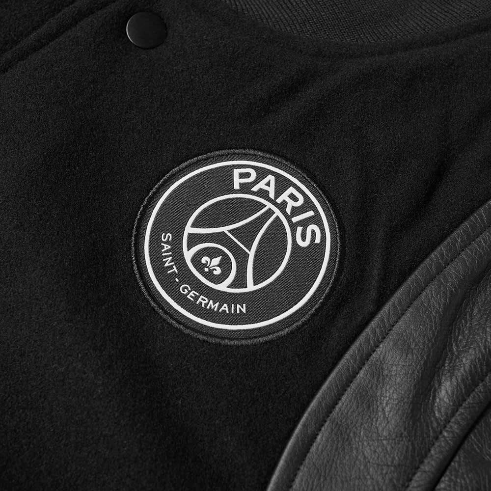 Air Jordan x PSG Varsity Jacket - Black