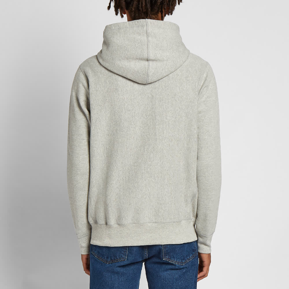 Raised by Wolves Brutalist Popover Hoody - Grey Heather
